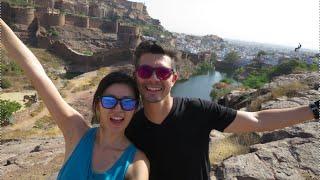 India Vlog: Merangarh Fort Zipline & Brahmpuri, Blue City, Jodhpur!