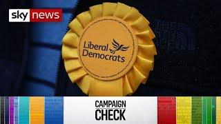 Campaign Check: Lib Dem manifesto