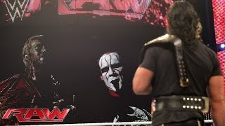 Sting and Sheamus look to rattle Seth Rollins en route to Night of Champions: Raw, September 7, 2015
