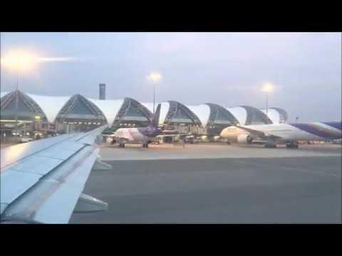 Takeoff - Bangkok International Airport - Bangkok Thailand