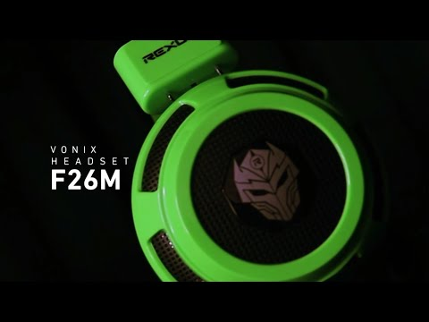 Rexus Gaming Headset Vonix F26M - For Mobile Gaming