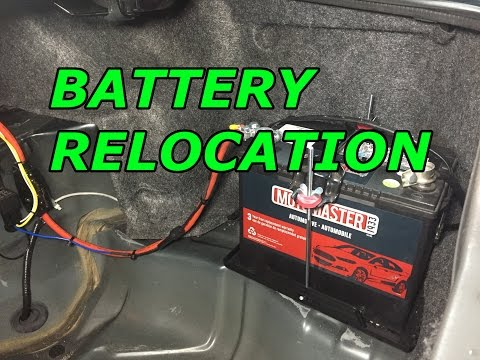 [SCHEMATICS_4US]  240SX S14 Build EP.9 Battery Relocation and Harness Tuck - YouTube | 240sx Fuse Box Battery |  | YouTube