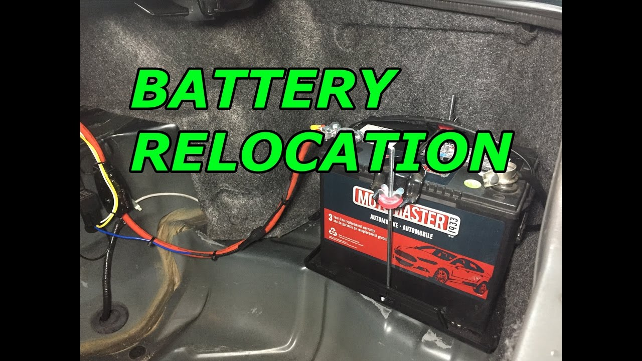 240sx s14 build ep 9 battery relocation and harness tuck [ 1280 x 720 Pixel ]