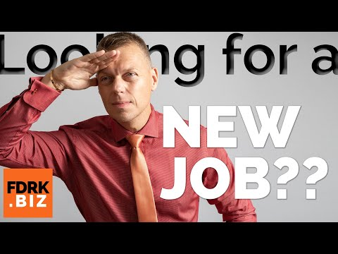 Finding A New Career | How To Find A Job That Suits You