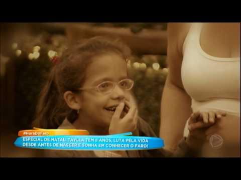 Rodrigo Faro Realiza Sonho Da Taylla, Uma Menina De 8 Anos Que Luta Pela Vida
