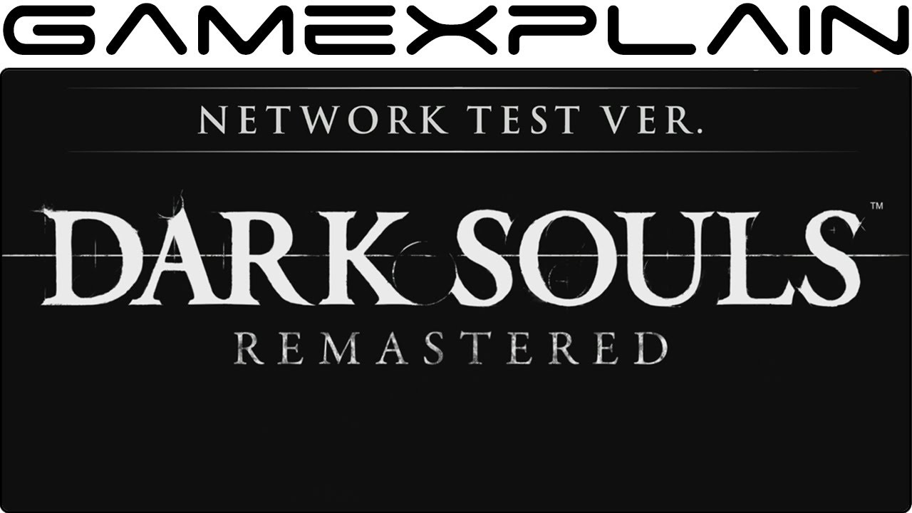 Dark Souls Network Test Goes Live September 21st! (Nintendo Switch)