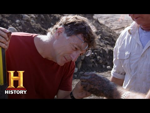 The Curse Of Oak Island: Actual Treasure Found At Smith's Cove (Season 6) | History