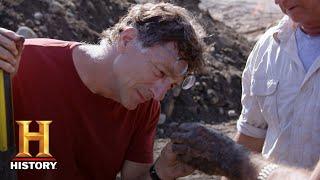 The Curse of Oak Island: Actual Treasure Found at Smith's Cove (Season 6) | History