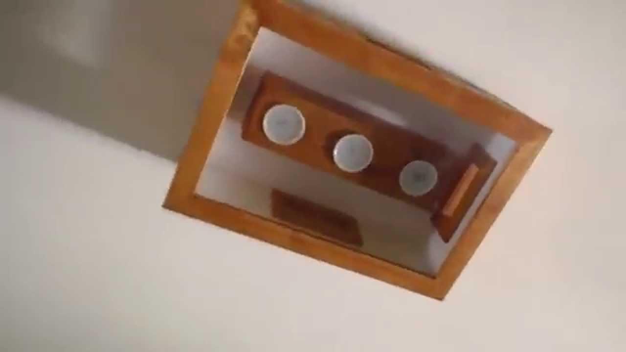 lampara de techo pasillo 2 casera YouTube
