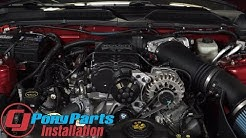 Mustang Roush Supercharger Kit Phase 1 475HP Manual Transmission 4.6L 2005-2009 Installation