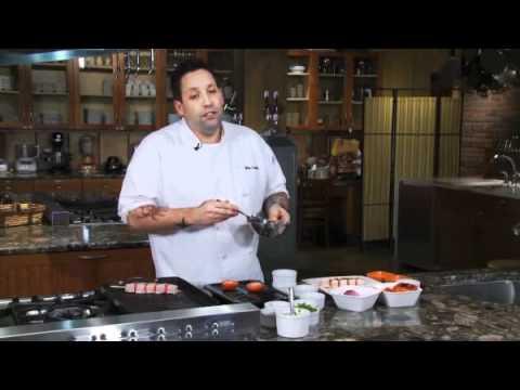 How To Make Atkins Friendly Grilled Swordfish Kebabs