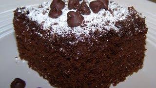 Gluten Free Chocolate Crumb Cake