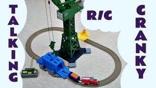 CRANKY & FLYNN SAVE THE DAY Trackmaster  Thomas The Tank Engine Remote Control Kids Toy Train Set thumbnail