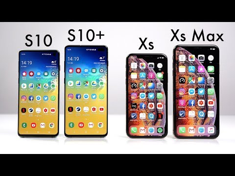 Samsung Galaxy S10 & S10+ vs. Apple iPhone Xs & Xs Max (Deutsch) | SwagTab