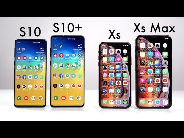Samsung Galaxy S10 & S10+ vs. Apple iPhone Xs & Xs Max (Deutsch)   SwagTab