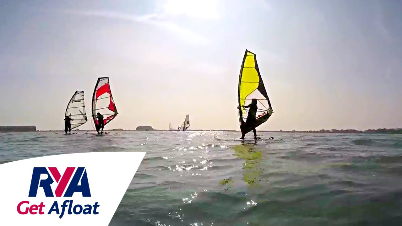 want to windsurf get afloat with the rya start windsurfing now