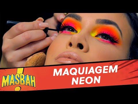 Saiba como não errar na hora da maquiagem neon - MasBah! - 24/08/19