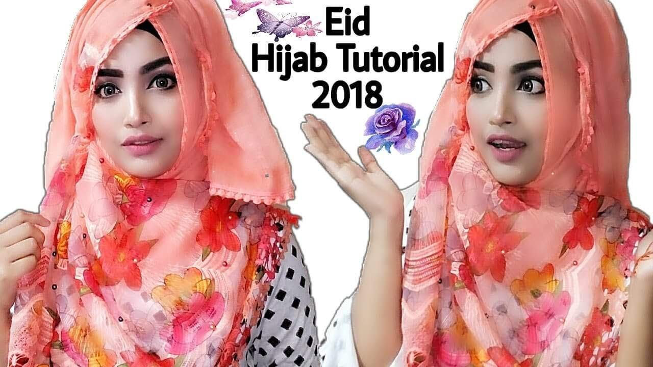 Eid special party hijab style with niqab / without niqab youtube.