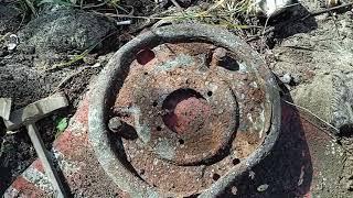 Поиск металла в лесу 👌возле железной дороги 🤑вот это находки