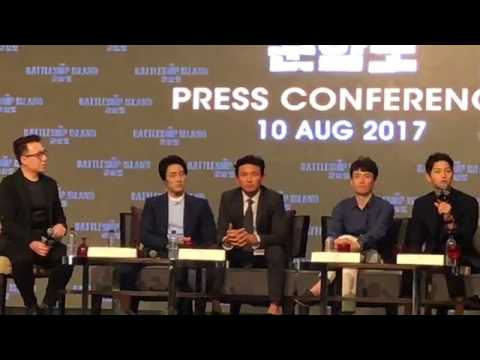 170810 Song Joong Ki So Ji Sub The Battleship Island Press Conference in Malaysia 군함도 송중기 소지섭 軍艦島