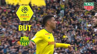 But DIEGO CARLOS (22') / FC Nantes - Paris Saint-Germain (3-2)  (FCN-PARIS)/ 2018-19