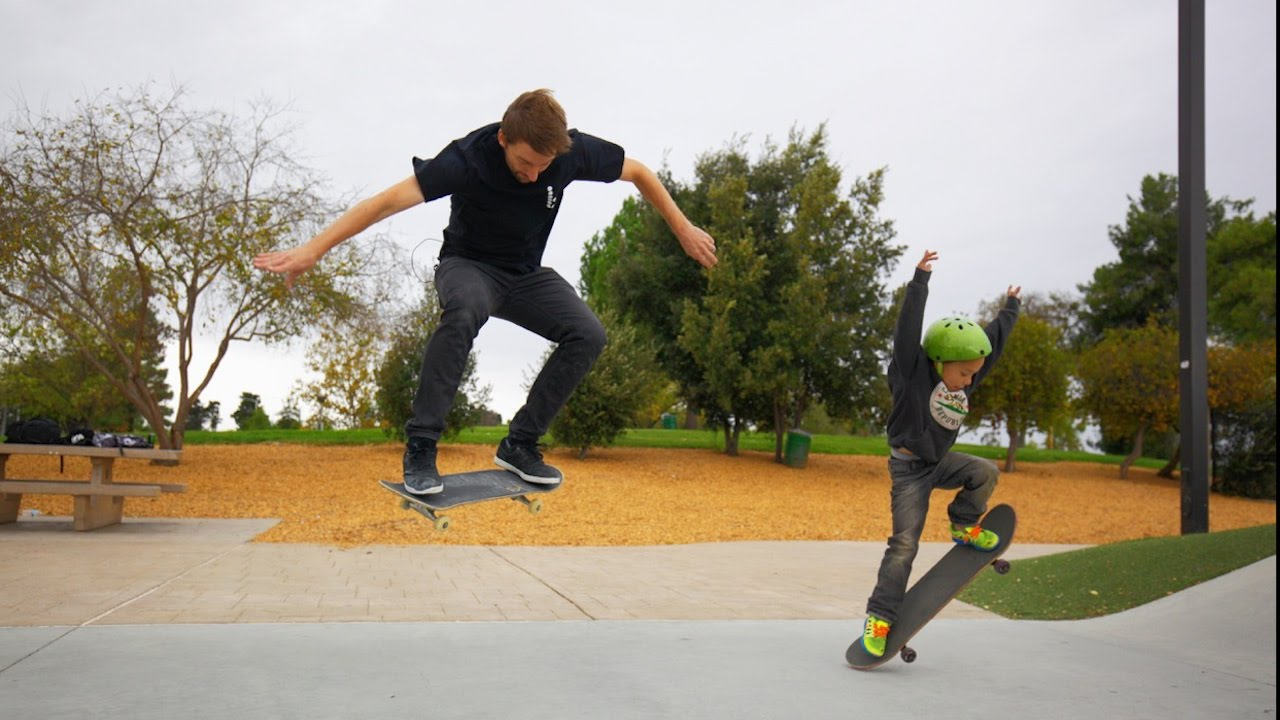 Download LANDING YOUR FIRST OLLIE!