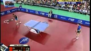 2012 Korea Open (ms-f) XU Xin - ZHANG Jike [Full match/Chinese]