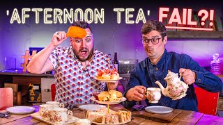 AFTERNOON TEA Recipe Relay Challenge  Pass it On S2 E24  SORTEDfood