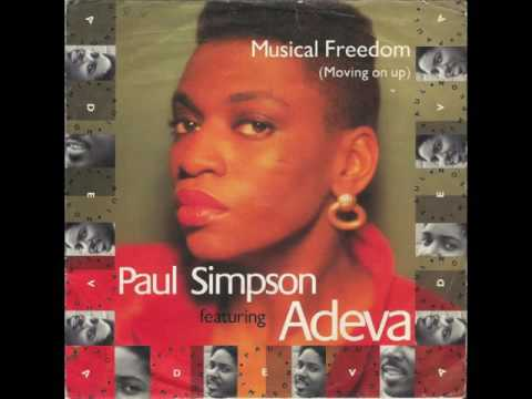 Paul Simpson Featuring Adeva And Introducing Carmen Marie - Musical Freedom (Moving On Up) - VINYL