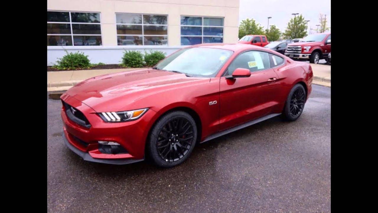 2016 Ford Mustang Gt Ruby Red Metallic Tinted Clearcoat