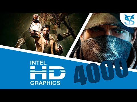 Game Performance on  Intel HD Graphics 4000