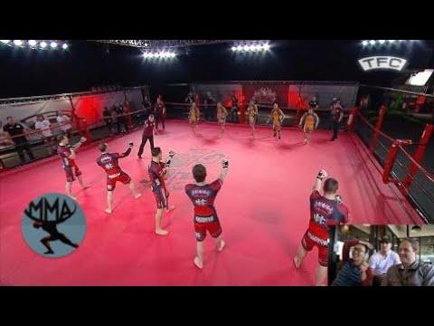 MMA&Boxing | BJJ vs Boxing: 5 vs 5 MMA Fight - Brazil vs UK