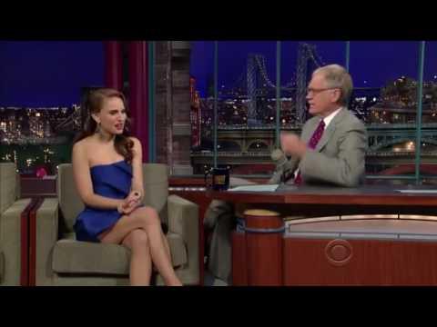 """Natalie Portman on David Letterman- Talks  """"Brothers"""""""