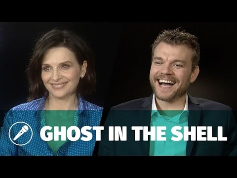 Interview — Pilou Asbæk & Juliette Binoche dans Ghost in the
