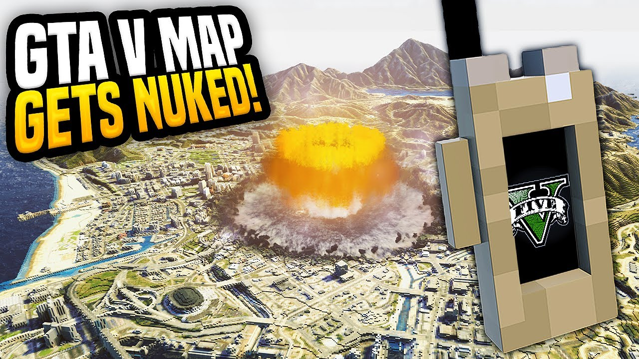 Download Setting Off a NUKE on the GTA 5 Map - Teardown Mods Gameplay