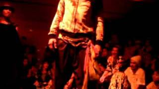 Bodypoet with Drummers (African Night tokyo)