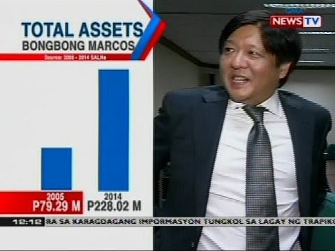 Statement of assets, liabilities, and net worth ng mga kandidato sa pagka-bise presidente, sinuri