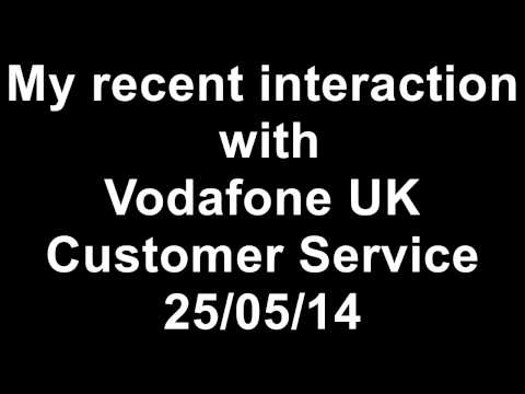 My Experience with Vodafone Customer Service on phone