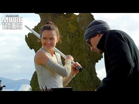 Download Youtube: Star Wars: The Last Jedi | New featurette shows off Daisy Ridley's light saber training