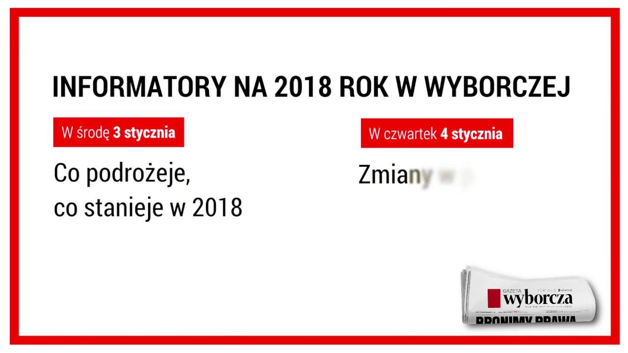 Informatory na 2018 rok