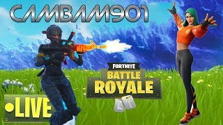 FORTNITE live DUO GAMEPLAY (USE CODE CAMBAM901-YT) GIVEAWAY AT 200 SUBS