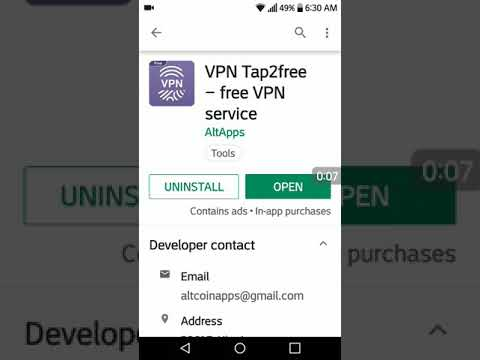 VPN Tap2free – free VPN service Mod Apk Link below description