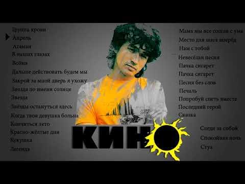 Кино - Виктор Цой - Лучшие песни