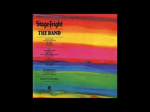 The Band - Stage Fright (1970) FULL ALBUM Vinyl Rip