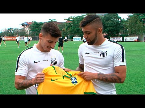 Gabriel e Zeca são convocados para a seleção olímpica