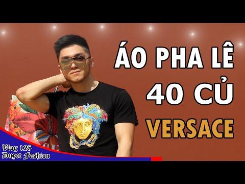Review Áo Pha Lê 40 Triệu Của Versace - Nong Nanh Nung Ninh Nấp Nánh | Vlog 125 - Duyet Sneaker