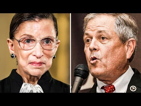 Republican Congressman Jokes About Ruth Bader Ginsburg Being Molested