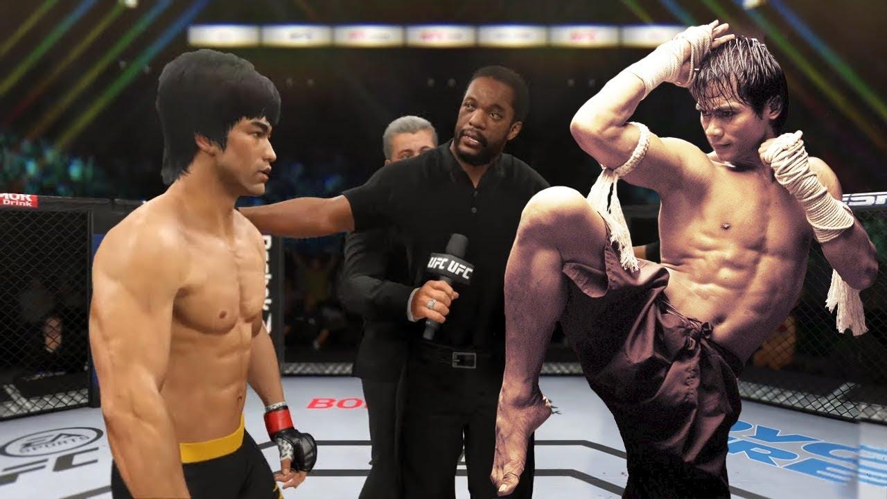 UFC 4   Bruce Lee vs. Tony Jaa (EA Sports UFC 4)