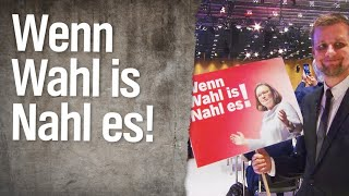 Schlegl in Aktion: Wenn Wahl is Nahl es!