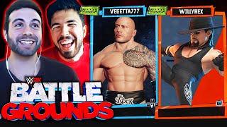 WWE 2K Battlegrounds - WILLY & BESTIAGETTA!